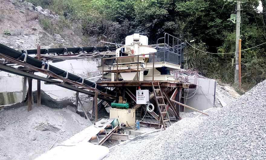 湖南长沙河luan石zhi砂生产线