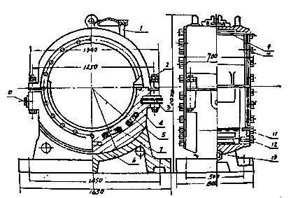球磨机主轴承采用滑动轴承结构(滑动轴承