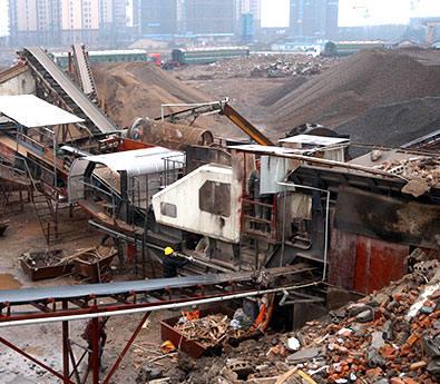 安徽shi产200吨建筑垃ji破碎现chang
