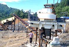 hu南changsha河卵石制砂生产线