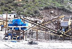 河南安阳shi产300吨砂石料生产线