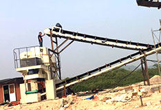 河北han郸shi产200-300吨河卵石制砂生产线