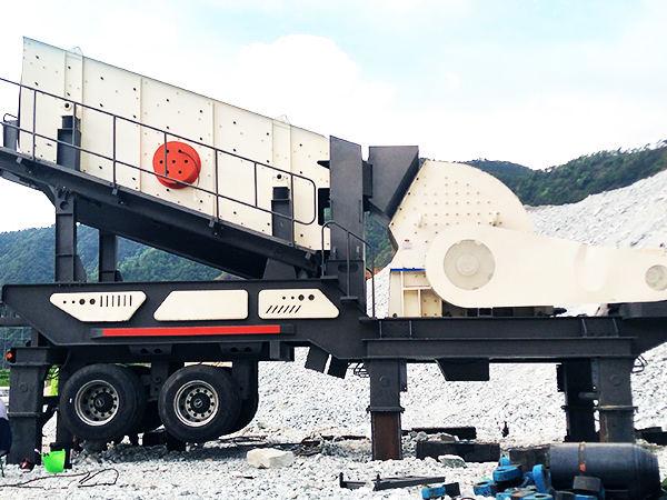 移动式鹅luan石破碎、zhi砂机