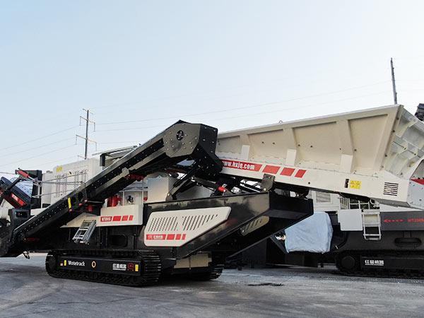 时产200吨移动zhi砂机视pin