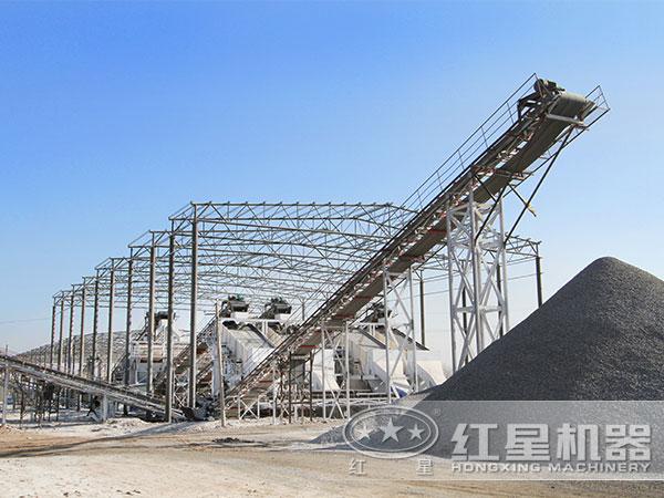 时产300吨砂shiliaosheng产线