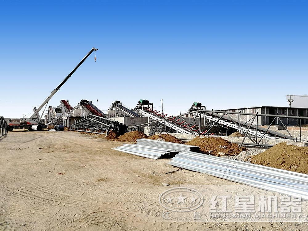 安yang时产300吨砂shiliaosheng产线