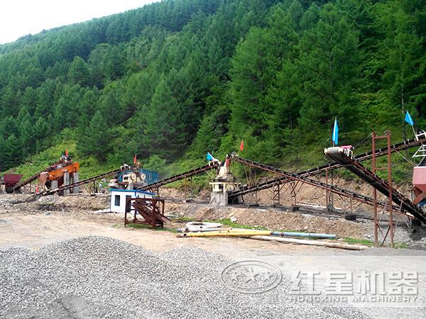 河luan石zhi砂生产线