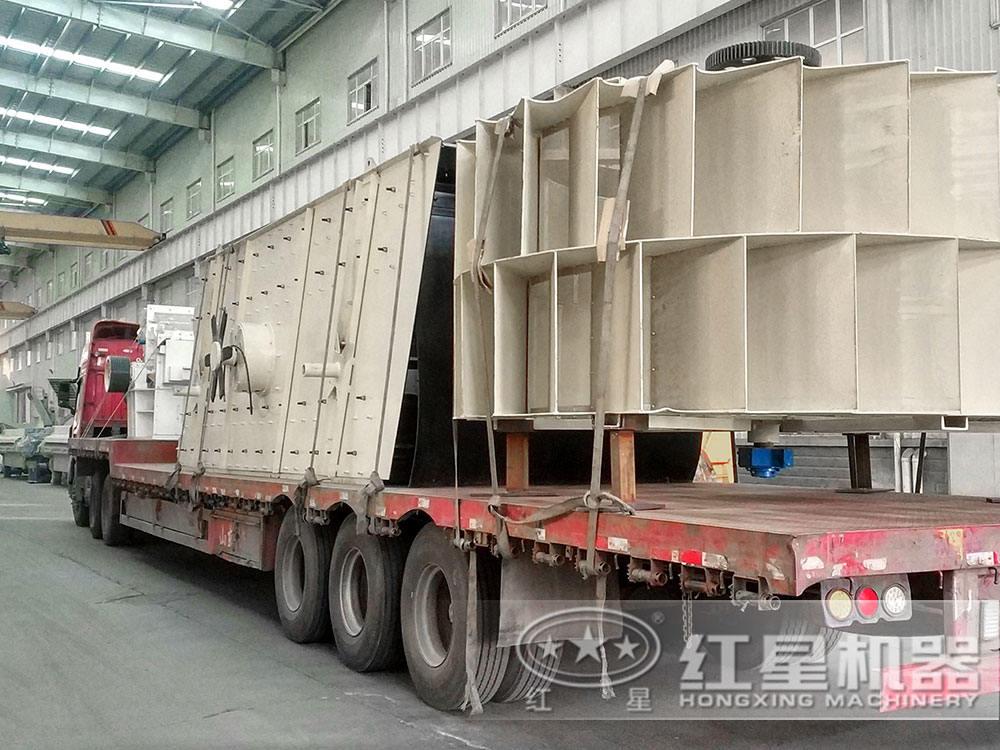 时产500吨hua岗yan制砂生产线fa货