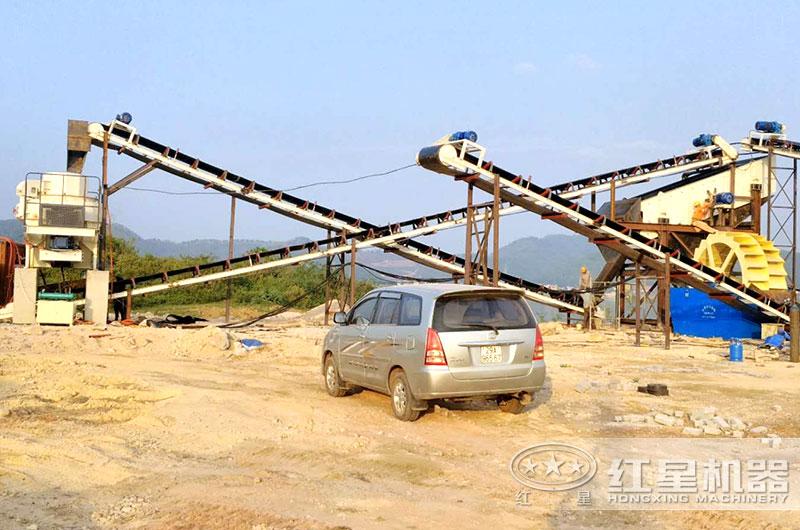 鹅卵石zhi砂生产线
