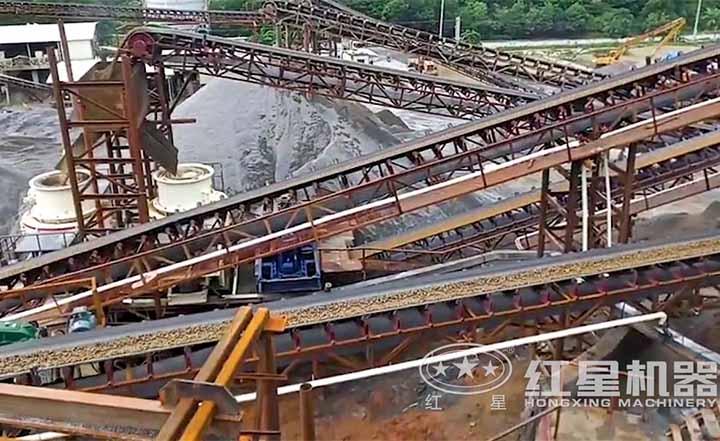 制砂生产xian场