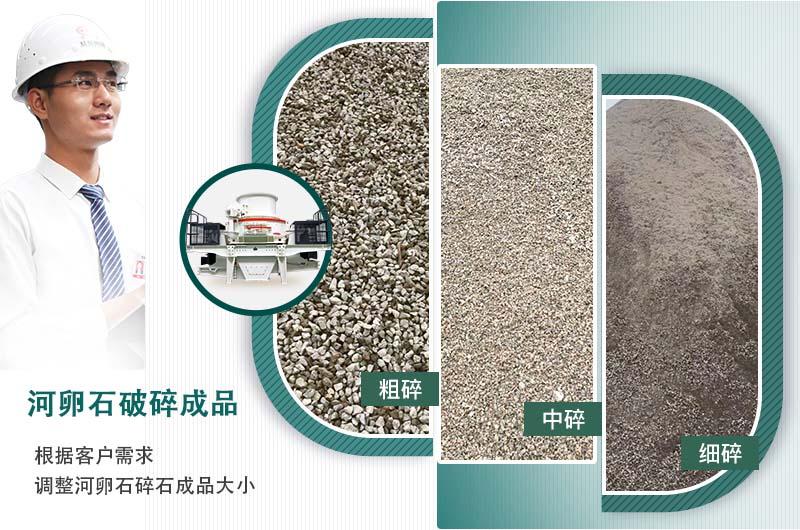 广xihe卵石制shasheng产成pin展shi图
