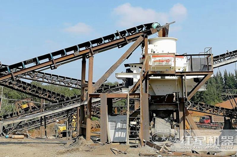 固定式制砂生产线现场