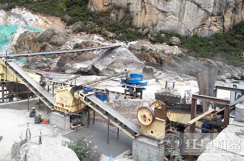 煤矸石制砂生产线